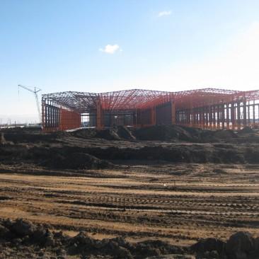 Домостроительный комбинат, г. Костанай, Казахстан
